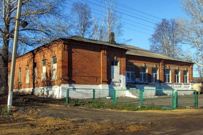 Больница земская, к. XIX в., с. Нижняя Ведуга