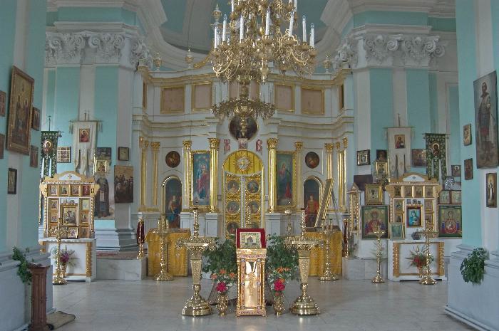 Екатерининский собор внутри