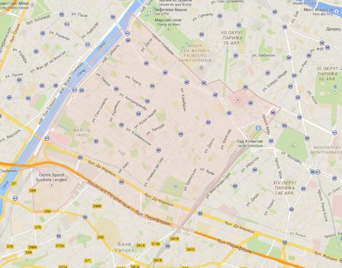 15 округ Парижа – Вожирар