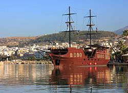 Туристический корабль, Ретимно