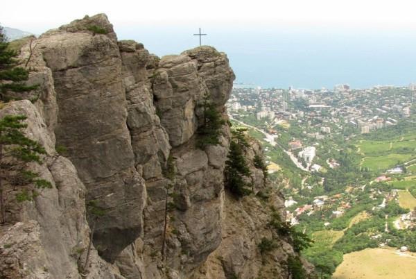 Крестовая гора Алупка