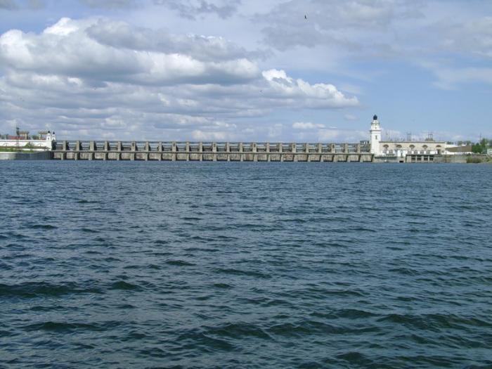 Цымлянское водохранилище и его шлюзы, Волгодонск