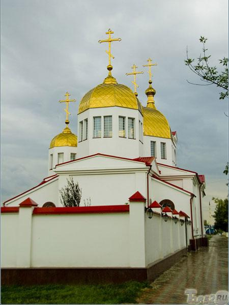 фото грозный чечня православный храм михаил архангел восстановление