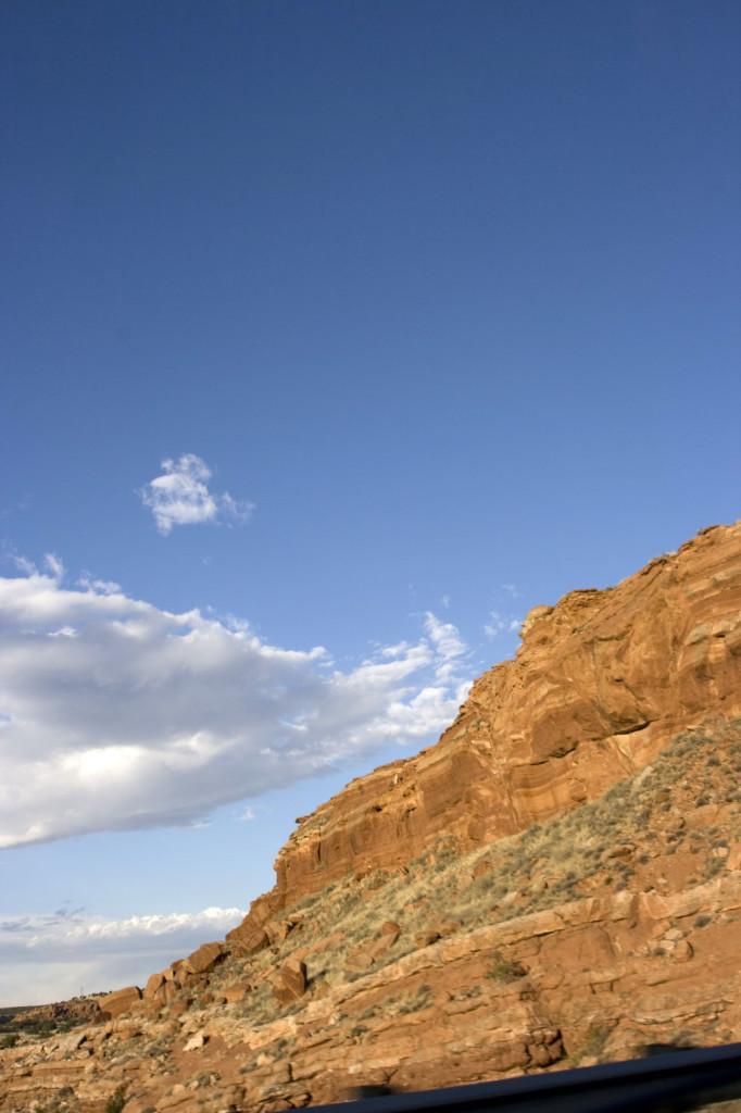 Скалы в Нью-Мексико