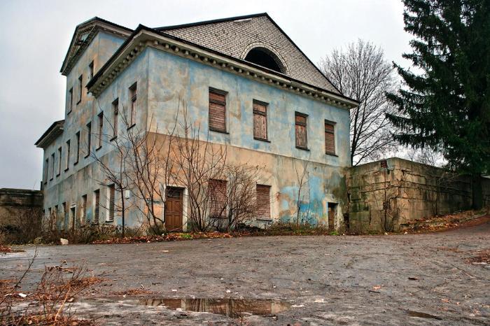 Дача Башкирцевых, XIX в., пос. Дача