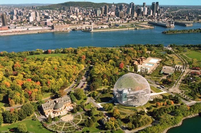 фото Монреаля из Канады
