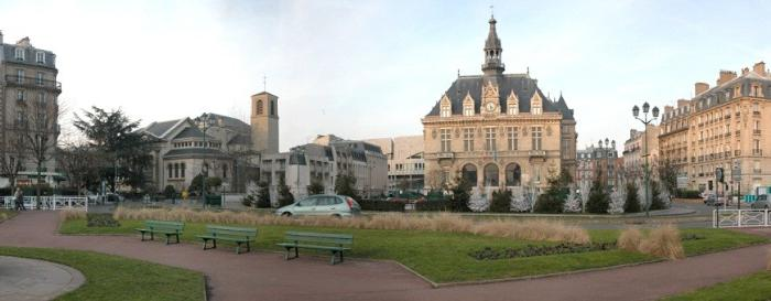Венсен - пригород Парижа, Франция
