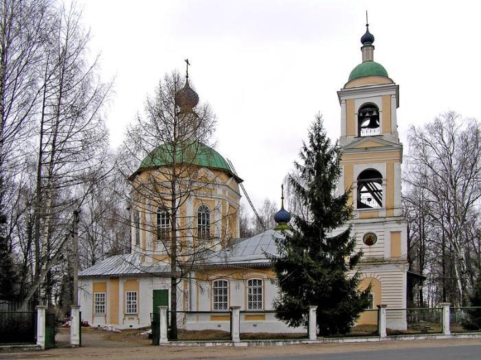 Церковь Покрова Пресвятой Богородицы, Рыбинск