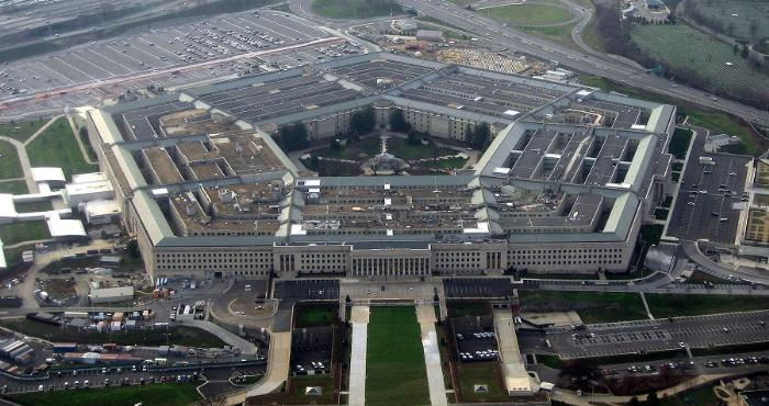 Министерство обороны США Пентагон в Вирджинии