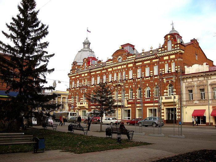 Город Томск и его достопримечательности