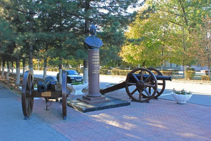Памятник полководцу Суворову, Новочеркасск