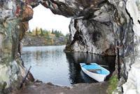 Мраморный каньон Рускеала — удивительное творение природы и человека