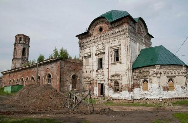 Николаевский собор г. Нолинск Кировская область