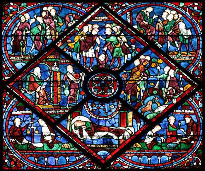 File:Chartres - cathédrale - Histoire de Joseph.JPG Chartres (Шартр), Франция - путеводитель по городу, достопримечательности