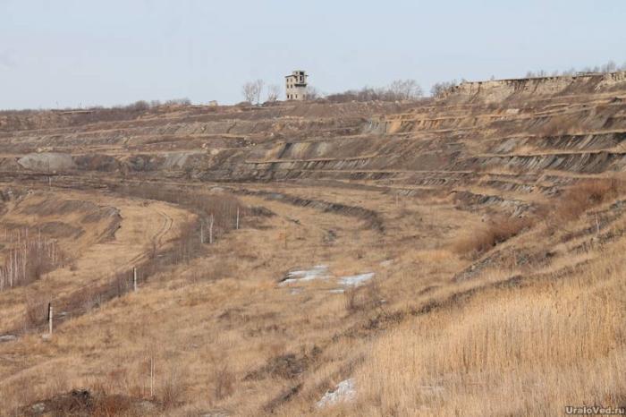 Бывшая Коркинская шахта