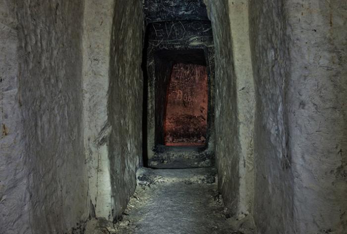Пещерный монастырь возле села Галиевка