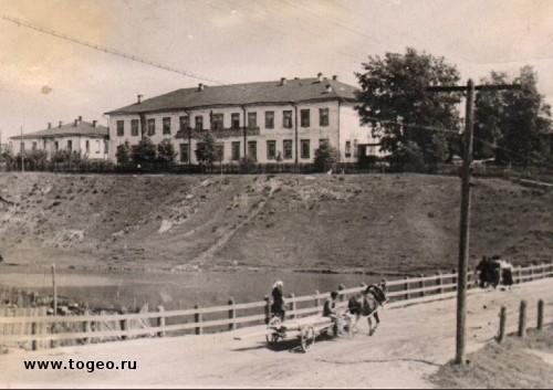 Больница, фото 1960-х годов