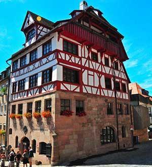 дом-музей Альбрехта Дюрера еще одна достопримечательность Нюрнберга