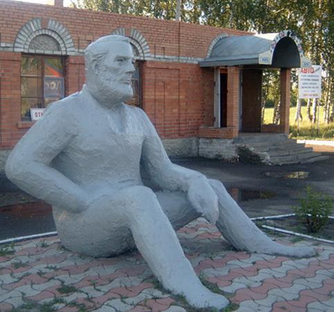 Памятник, возведенный в честь Эрнеста Хемингуэя
