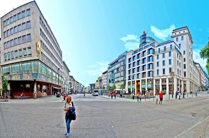 Центр города Пфорцхайм
