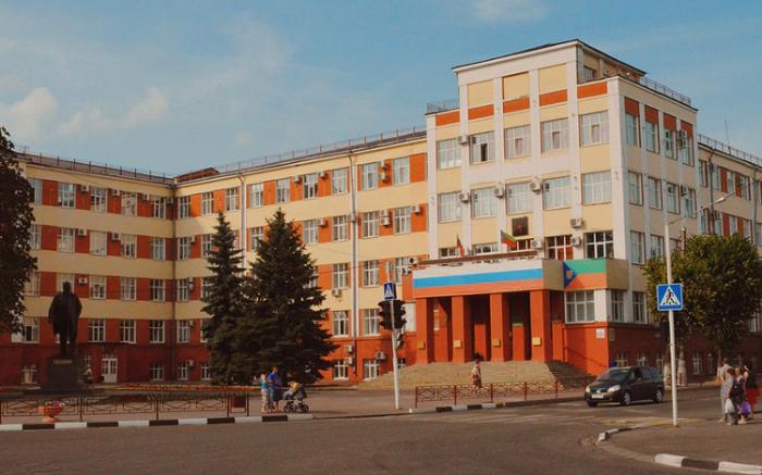 Здание дома Советов