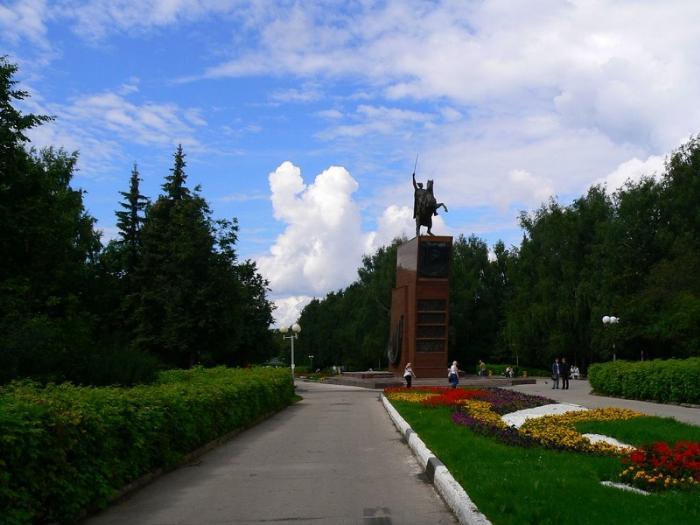 Сквер имени Чапаева