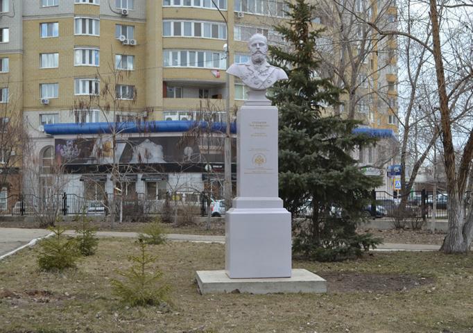 Памятник Петру Аркадьевичу Столыпину