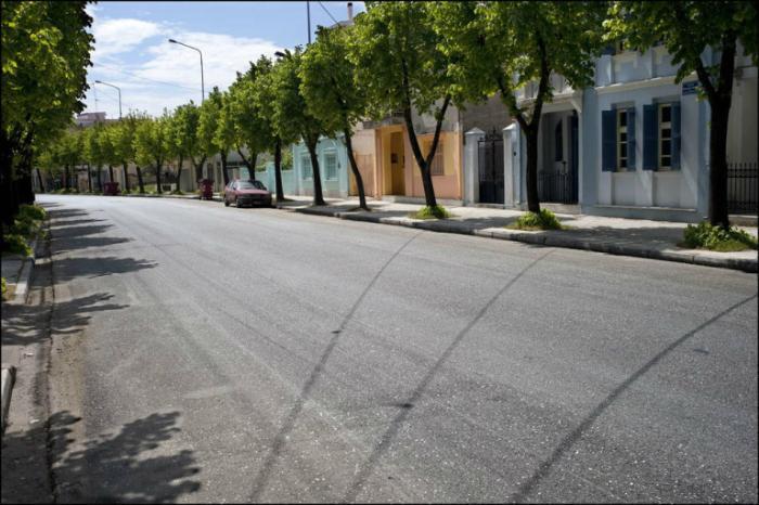 Улица Панагия Тсалдари