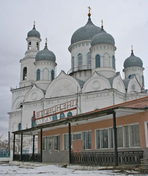 Вознесенский храм Каслей
