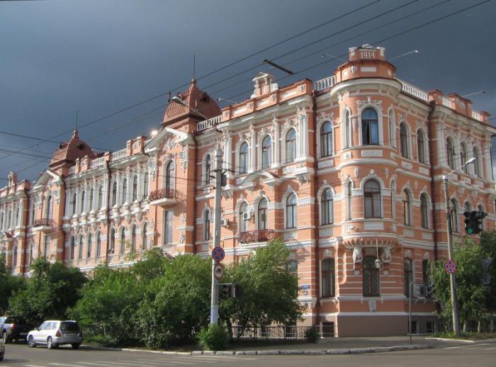 Шумовский дворец, Чита
