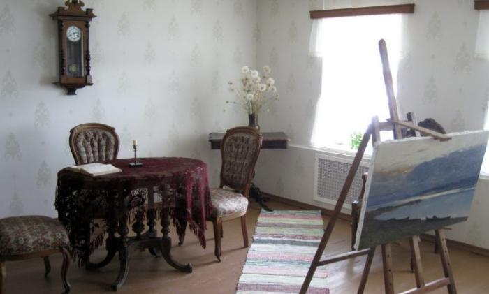 Музей Левитана в городе Плес Ивановской области