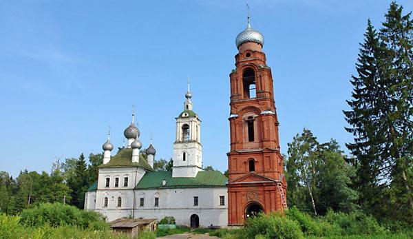 Церковь АрхангелаМихаила в бору, достопримечательности Углича