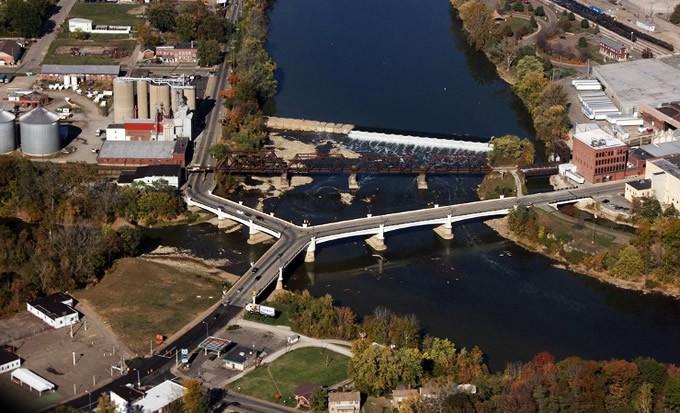 Мост в Занесвилле