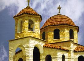 Церковь Святого Георгия в селе Неа Санта