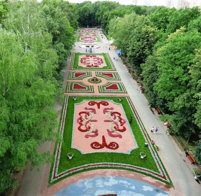 парк культуры и отдыха имени л.н толстого химки