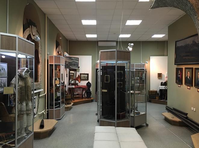 Внутри исторического музея