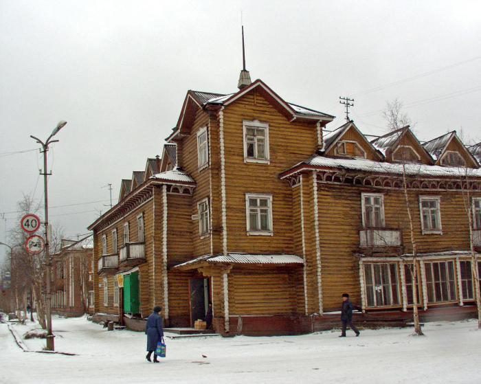 Дома деревянного зодчества