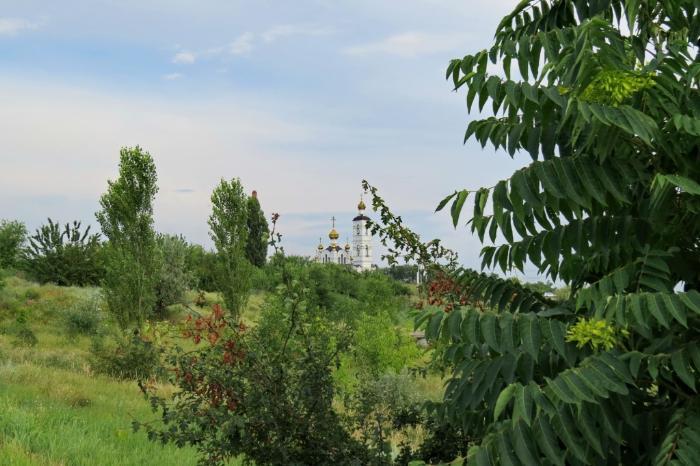 Волгодонск, новый город, храм