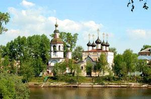 Церковь Дмитрия Прилуцкого на Наволоке