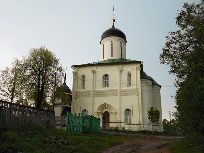 Звенигородский Городок и Успенский собор
