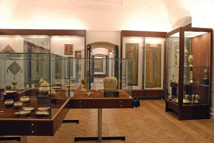 Сергиево-Посадский музей-заповедник внутри