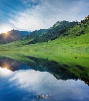 Голубые озера в КБР