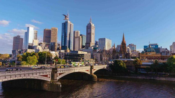 австралия мельбурн