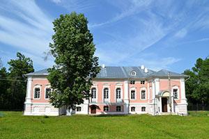 Усадьба -музей Лопасня-Зачатьевское в городе Чехове