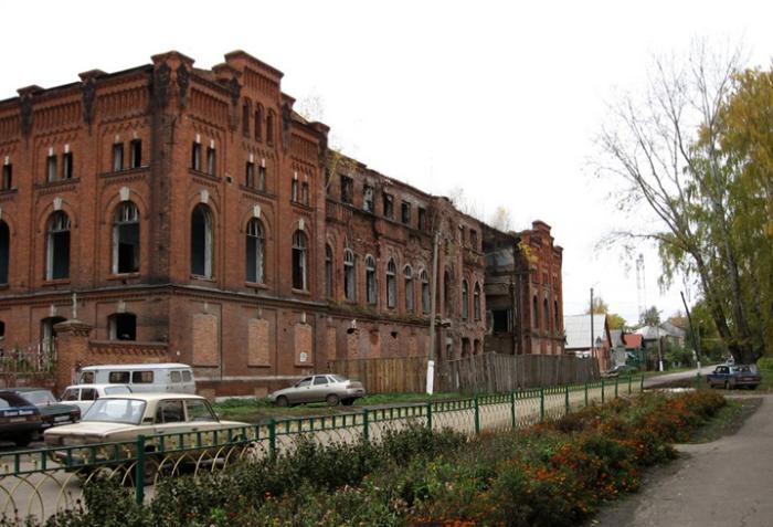 Руины Ряжского консервного завода
