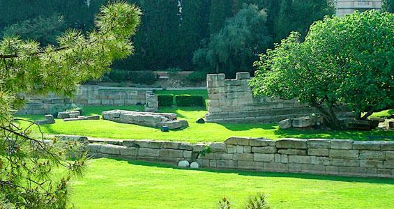 Сад руин в Марселе