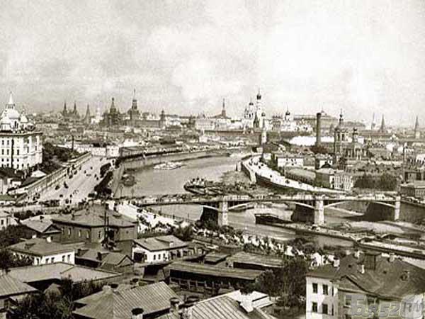 Москва фото дореволюционная