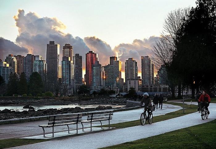 Парк Стэнли в Ванкувере