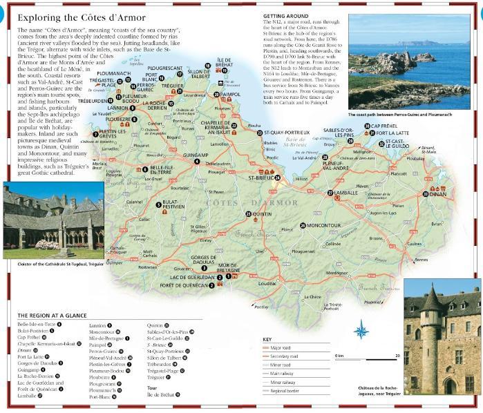 Карта города St-Brieuc (Сен-Бриё) с отмеченными достопримечательностями - St-Brieuc (Сен-Бриё), Бретань, Франция - достопримечательности, маршрут по городу с картой, путеводитель по городу. Что посмотреть в St-Brieuc, Бретань, Бретань Франция, достопримечательности Бретани, города Бретани, путеводитель по Бретани, Бретань путеводитель, Франция, города Франции, путеводитель по Франции, что посмотреть во Франции, Франция путеводитель, франция путеводитель скачать бесплатно, туристический маршруты с картой скачать бесплатно