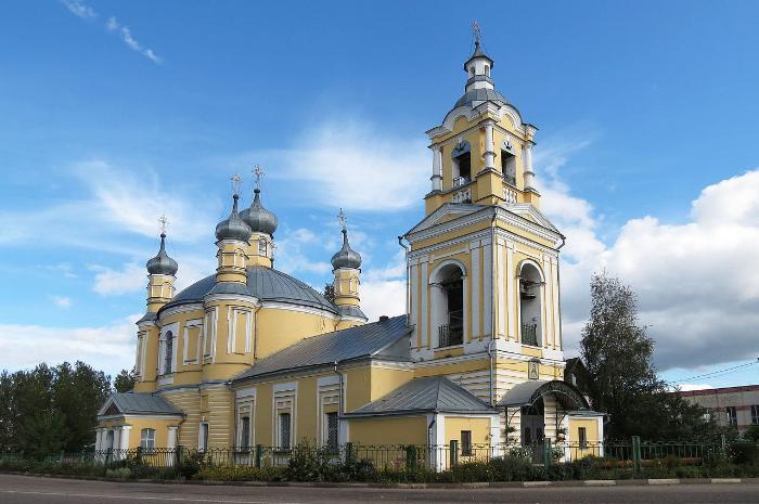 Ильинская церковь в Старице